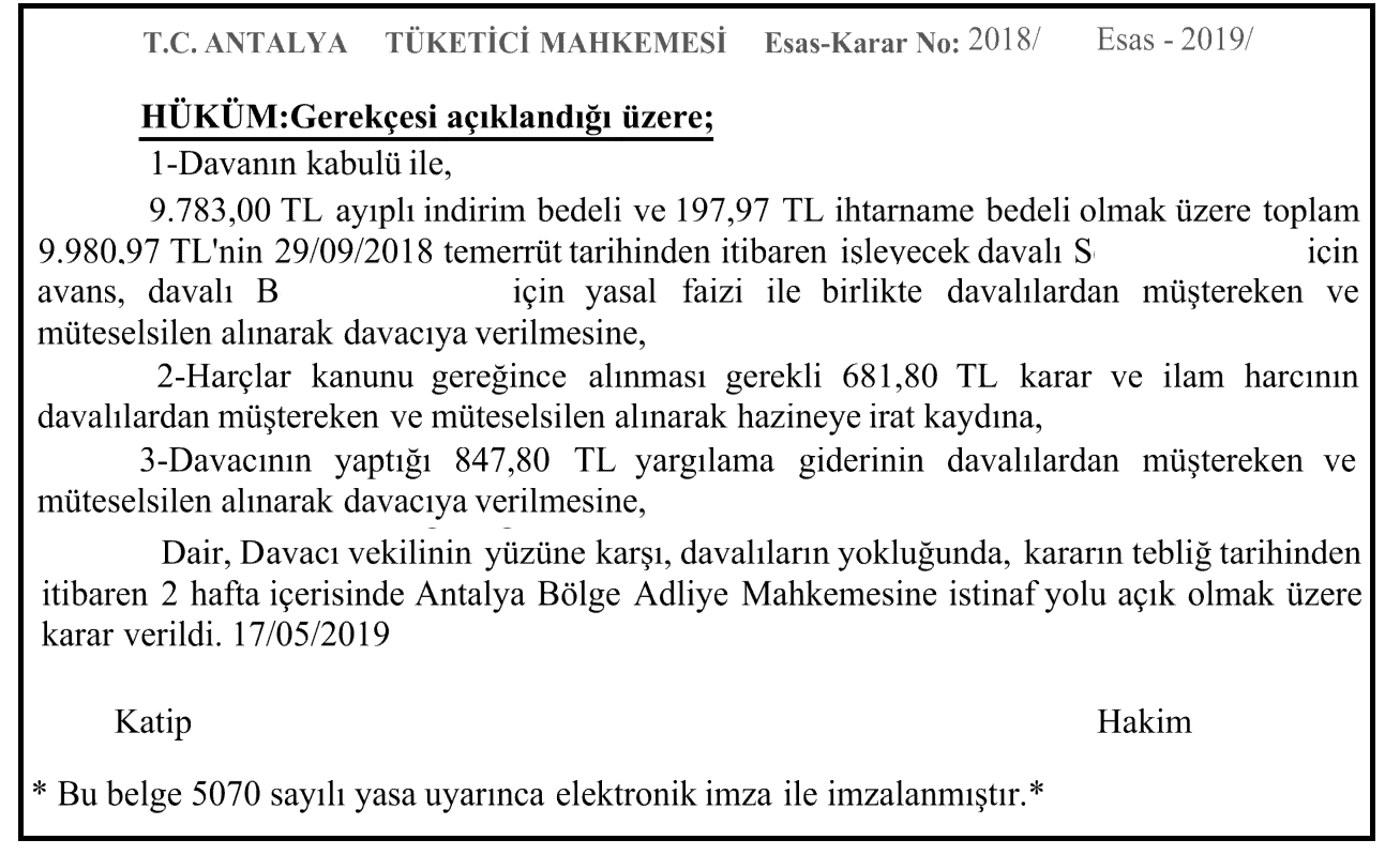 Emsal Karar - 1, 2/2