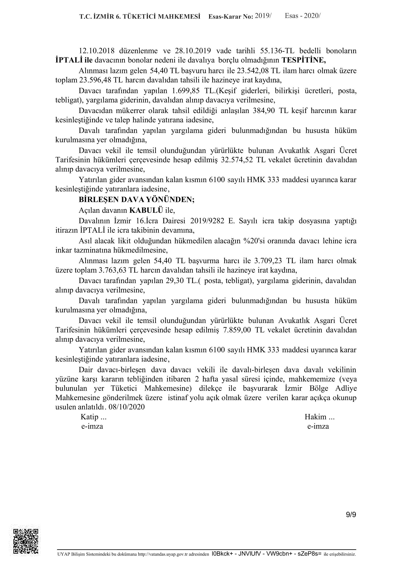 konut satış sözleşmesi cayma